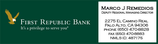 First Republic Bank - Marco J Remedios